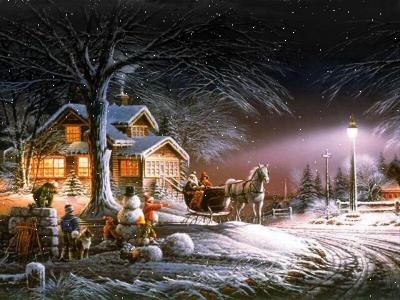 Free Download Buy Online A Christmas Sleigh Ride Screen Saver Full ...
